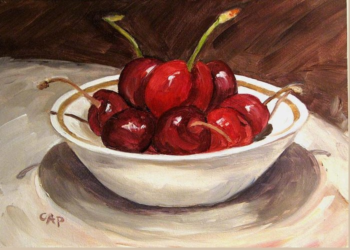 Contemporary Realism Greeting Card featuring the painting Life Is Just A.... by Cheryl Pass