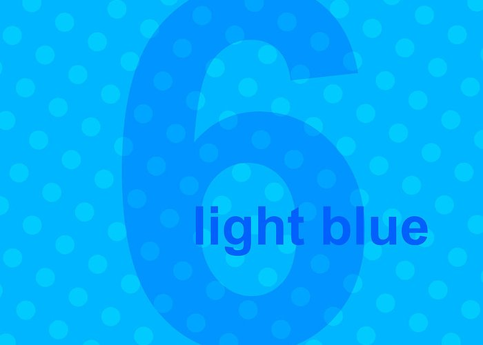 Divine Greeting Card featuring the digital art Light Blue Angel by Maciej Mackiewicz