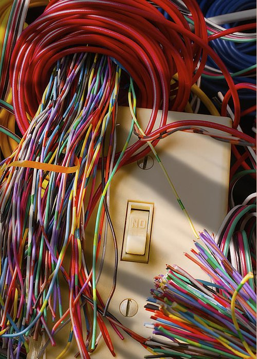Electrical Wiring Greeting Cards