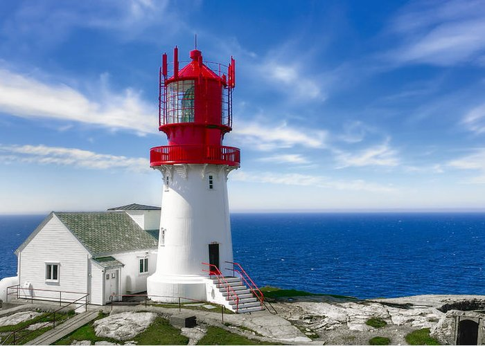 Norwegian Lighthouse Greeting Cards