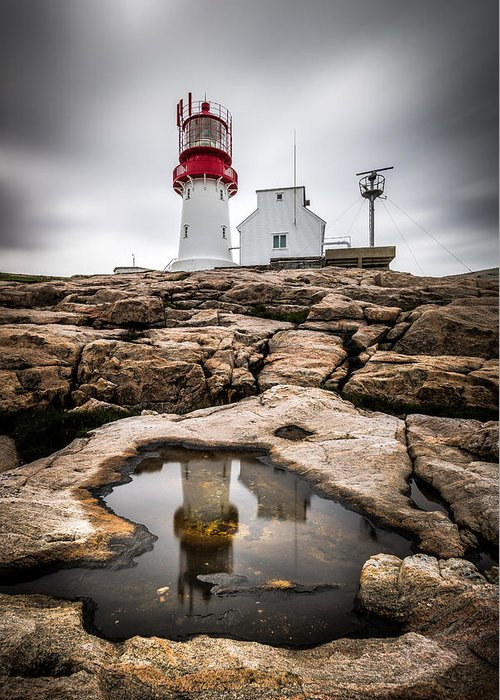 Lindesnes Lighthouse Greeting Cards