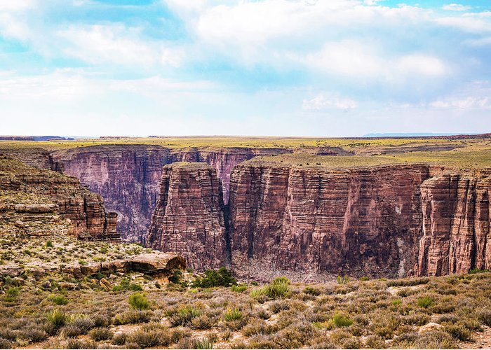 Canyon Greeting Card featuring the photograph Little Canyon by Ric Schafer