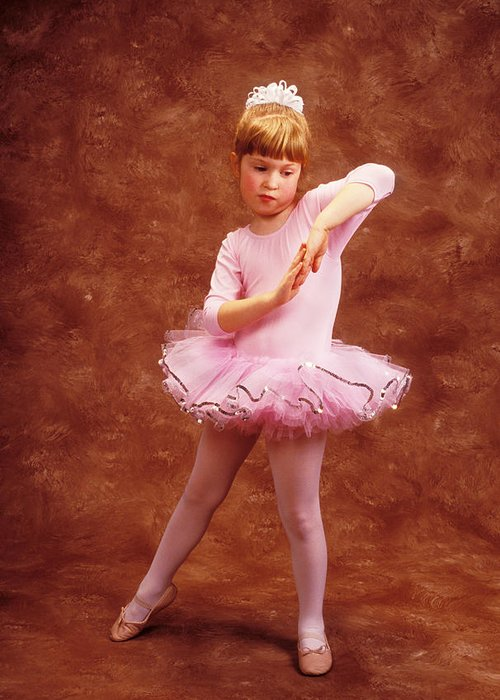 Dancer Greeting Card featuring the photograph Little Dancer by Garry Gay