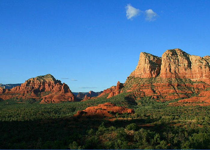 Sedona Greeting Card featuring the photograph Little Horse Park by Gary Kaylor