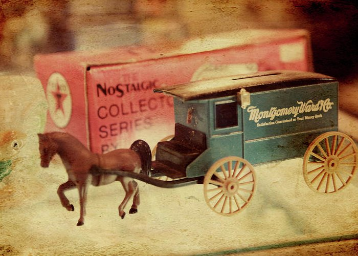 Stagecoach Greeting Card featuring the photograph Little Stagecoach by Toni Hopper