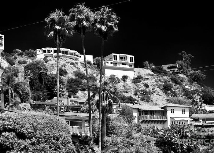 Living In The Hills Greeting Card featuring the photograph Living In The Hills by John Rizzuto