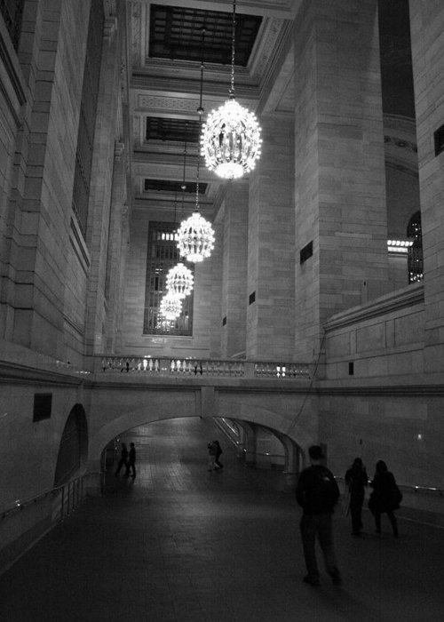 Grand Central Station Greeting Card featuring the photograph Lobby by Jeff Porter