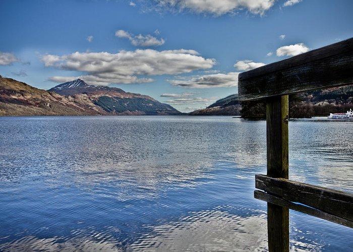 Scotland Greeting Card featuring the photograph Loch Lomond And The Ben by Derek Beattie