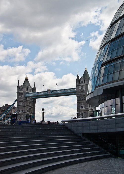 Tower Bridge Greeting Card featuring the photograph London Tower Bridge by Dawn OConnor