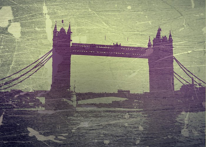 London Tower Bridge Greeting Card featuring the photograph London Tower Bridge by Naxart Studio