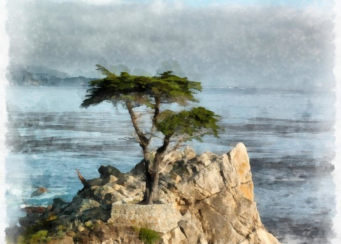 Central Coast Of California Greeting Cards