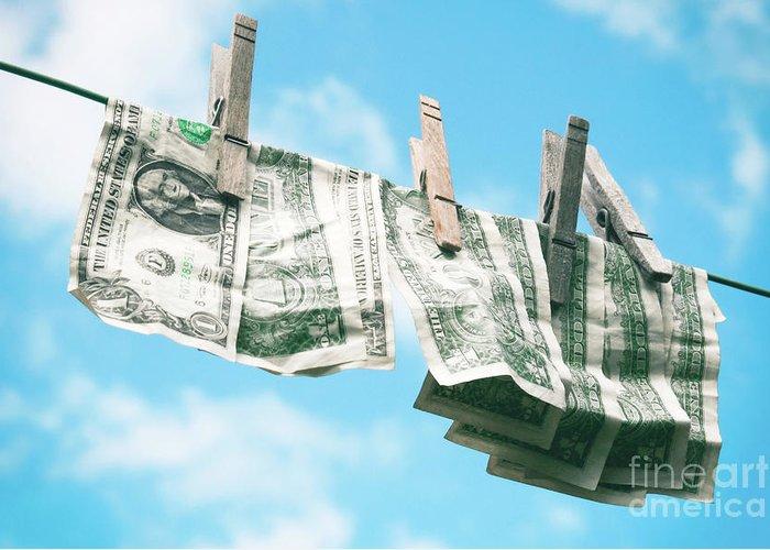 Look How Much A Dollar Buys Greeting Card featuring the photograph Look How Much A Dollar Buys by Sharon Mau