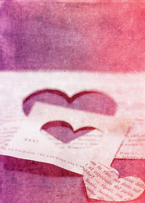 Hearts Greeting Card featuring the photograph Lost Hearts by Rebecca Cozart