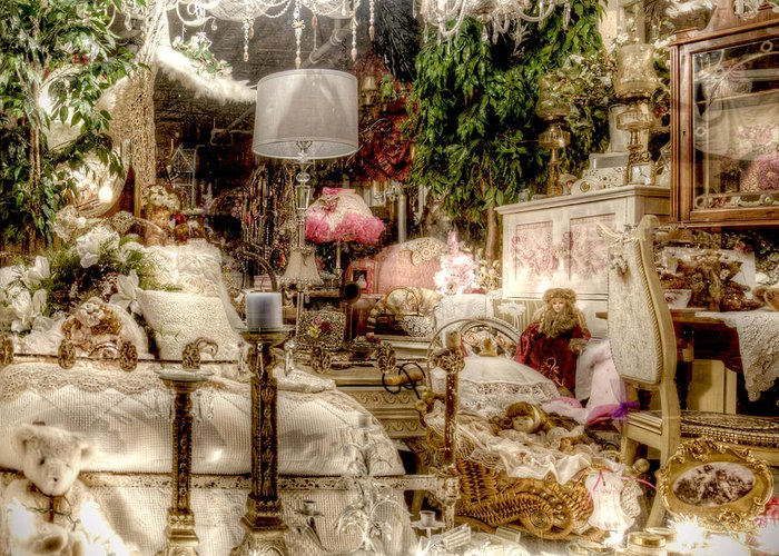 Romantic Greeting Card featuring the photograph Lost In A Dream by Vicki Jauron