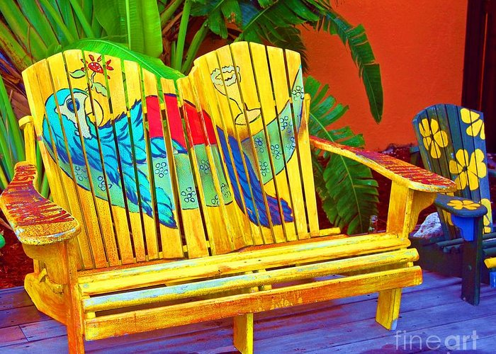 Tropical Greeting Card featuring the photograph Lost Shaker Of Salt 2 by Debbi Granruth