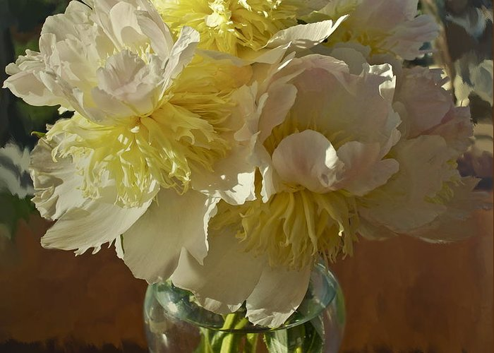 Floral Greeting Card featuring the photograph Lost Treasures by Gwyn Newcombe