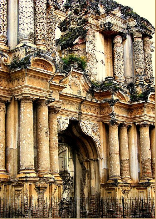 Architecture Greeting Card featuring the photograph Lost Treasures by Karen Wiles