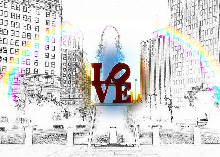 Love Greeting Card featuring the photograph Love by Bill Cannon