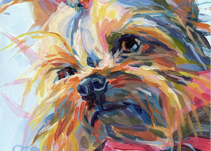 Yorkshire Terrier Greeting Cards