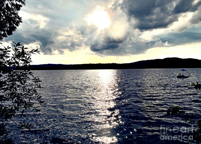 Lake Greeting Card featuring the photograph Luminous Lakeside by Onedayoneimage Photography