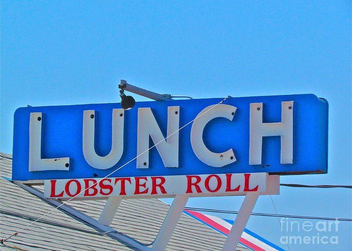 Lunch Greeting Card featuring the photograph Lunch by Beth Saffer