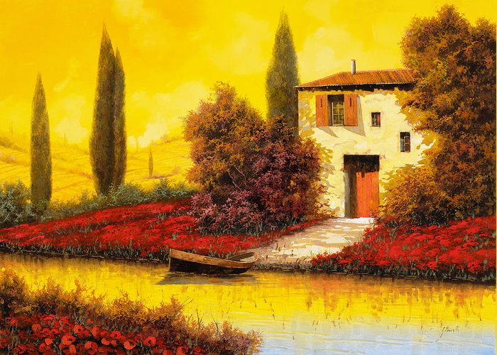 Tuscany Landscape Greeting Cards