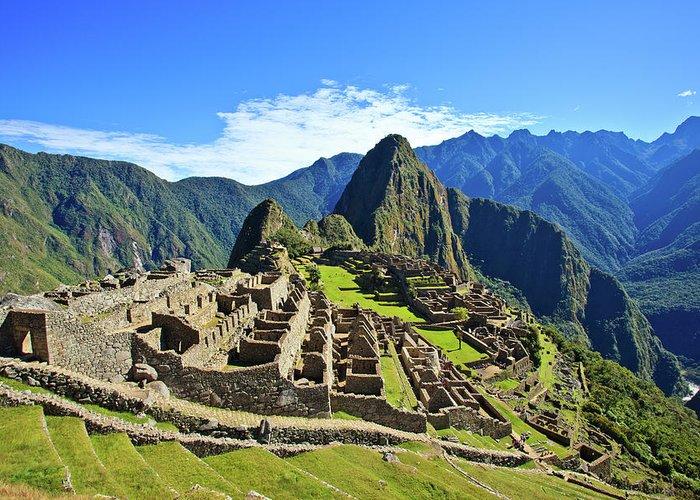 Peru Greeting Cards