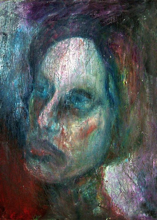 Painting Greeting Card featuring the photograph Madam X by Richard Coletti