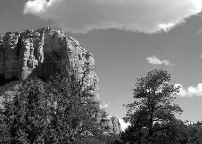 Sedona Greeting Card featuring the photograph Magic Mountaintop by Kevin Igo