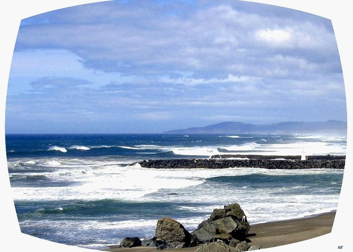Seascape Greeting Card featuring the photograph Magnificent Sea by Will Borden