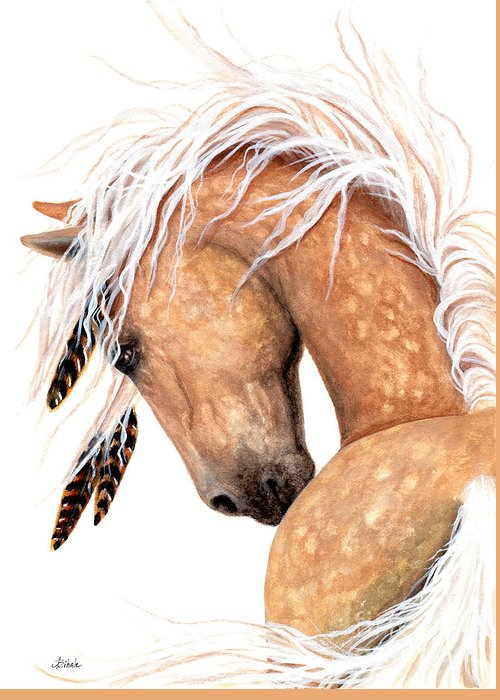 Palomino Horse Greeting Cards