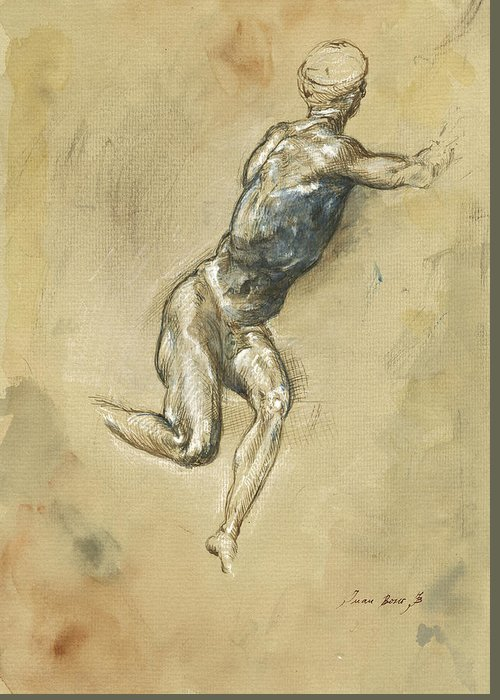 Figure Drawing Paintings Greeting Cards