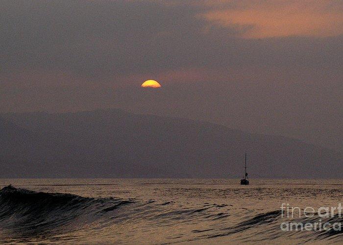 Malibu Greeting Card featuring the photograph Malibu Sunrise by Marc Bittan