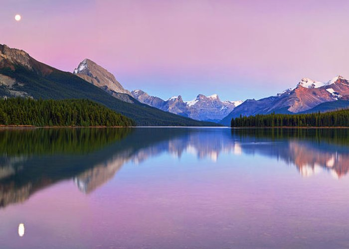 Canadian Rockies Greeting Cards