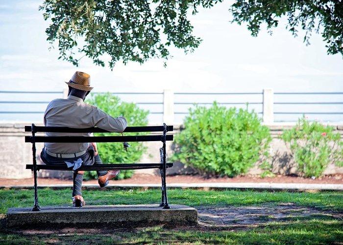 Buddhist single men in battery park
