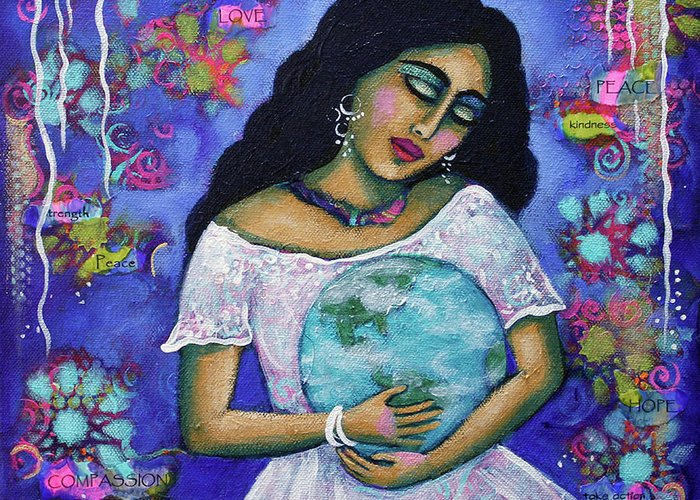 Mother Earth Greeting Cards