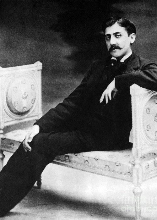 Marcel proust french author greeting card for sale by omikron history greeting card featuring the photograph marcel proust french author by omikron m4hsunfo