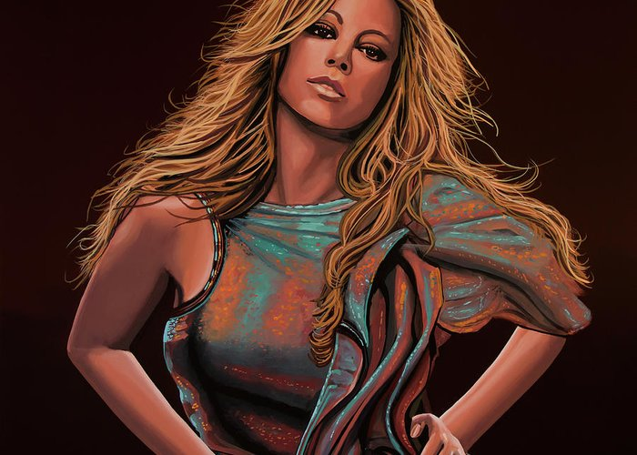 Mariah Carey Greeting Cards