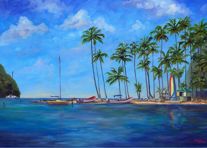 St. Lucia Greeting Cards