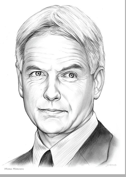 Mark Harmon Greeting Cards