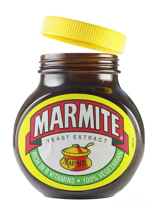 Marmite Greeting Card featuring the photograph Marmite by Julie Woodhouse