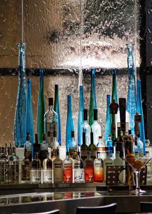 Bar Greeting Card featuring the photograph Martini by Athala Carole Bruckner