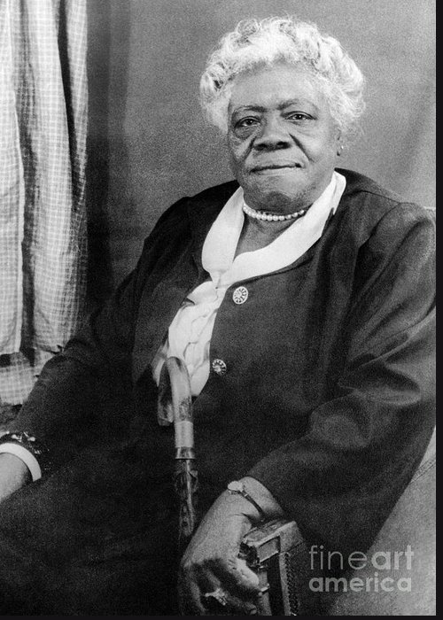 1949 Greeting Card featuring the photograph Mary Mcleod Bethune by Granger