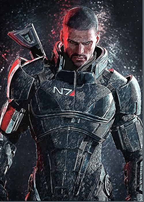 Mass Effect Greeting Cards