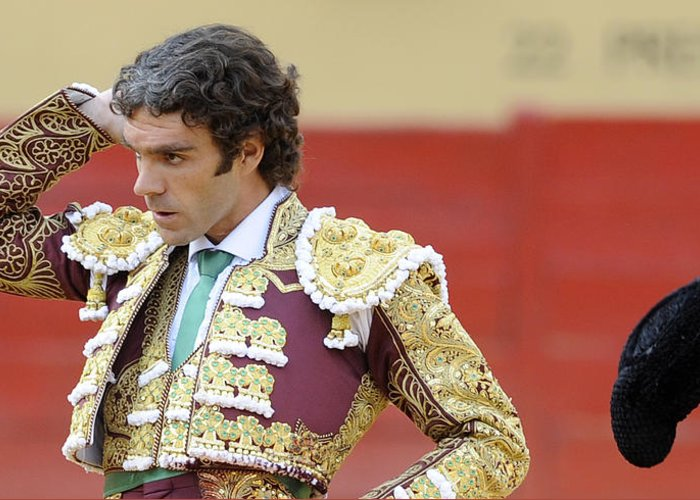 Spain Greeting Card featuring the photograph Matador Jose Tomas IIi by Rafa Rivas