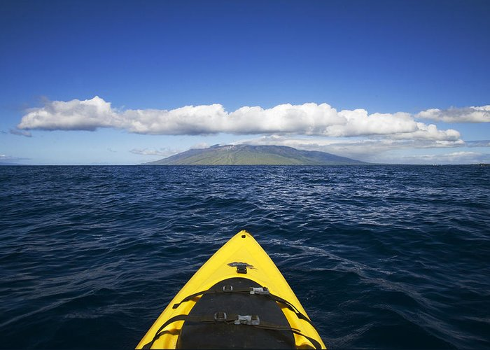 Open Ocean Kayaks Greeting Cards