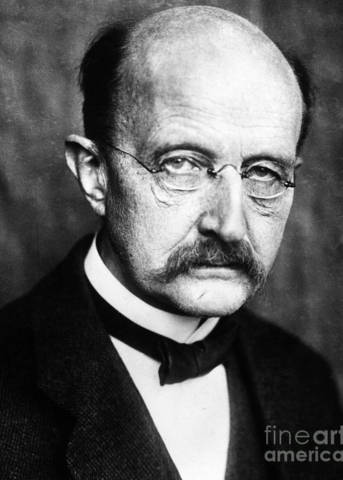 1929 Greeting Card featuring the photograph Max Planck by Granger