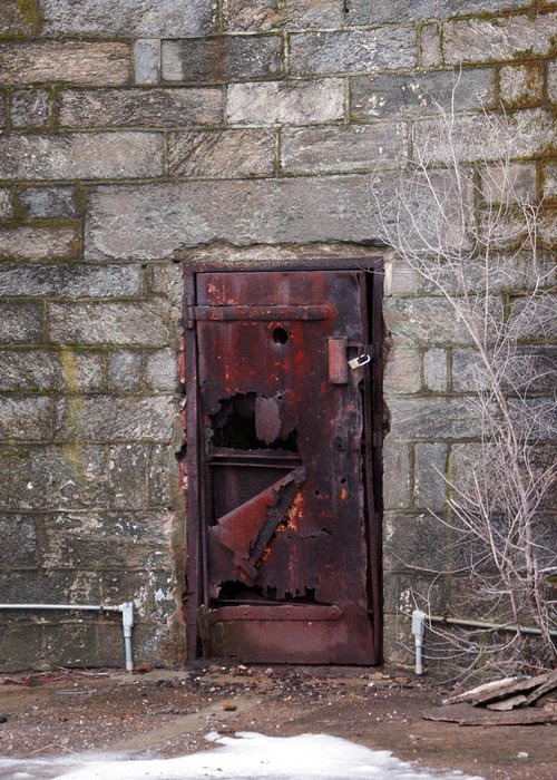 Pennsylvania Greeting Card featuring the photograph Maximum Security by Kat Dee