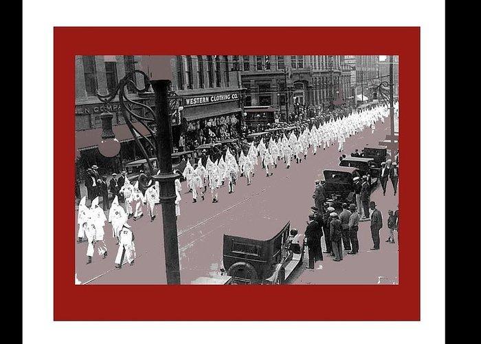 Mayor Benjamin Stapelton Leads Kkk March Downtown Denver Colorado ...