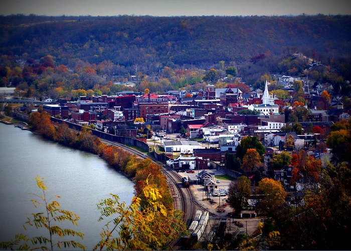Maysville Greeting Card featuring the photograph Maysville Kentucky by Susie Weaver